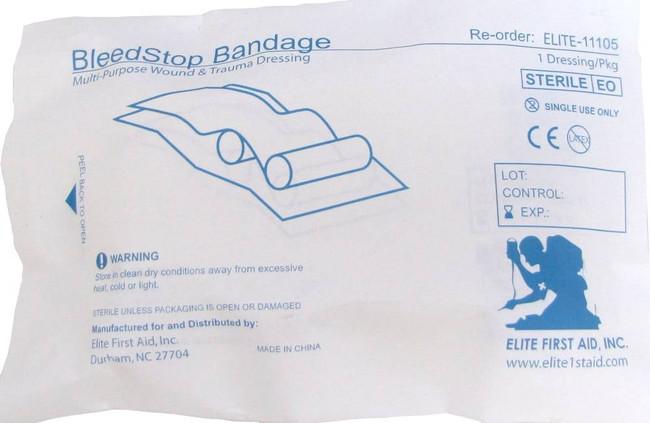 Elite First Aid Bleedstop Bandage 550 700220132788