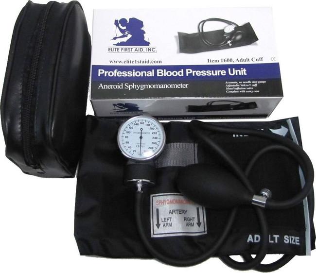 Elite First Aid Adult Blood Pressure Unit 600