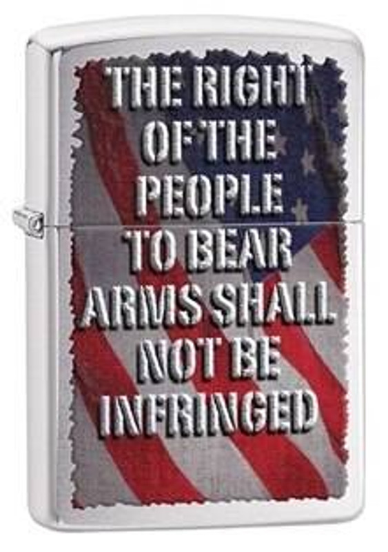 Zippo Windproof Right to Bear Arms Lighter 28641