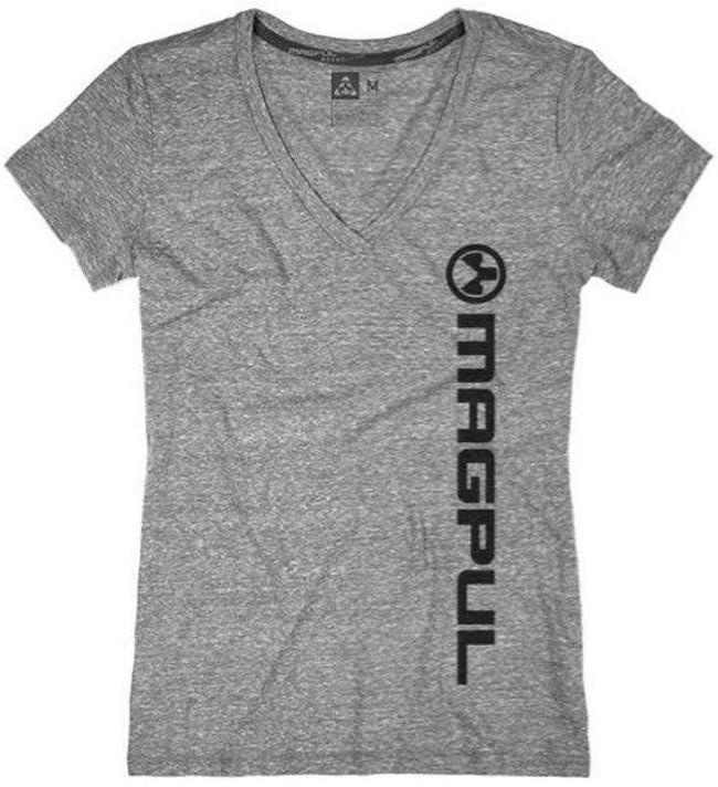 Magpul Megablend Womens V-Neck Vert Logo T-Shirt MAG878