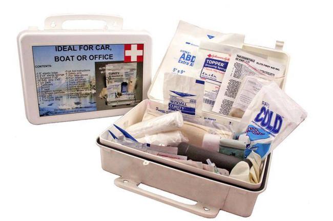 Elite First Aid, Inc White Series Kit - 16 persons FA111 894302002172
