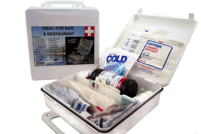 Elite First Aid, Inc White Series Kit - 25 persons FA112 135257841547