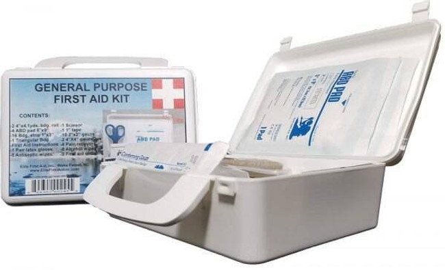 Elite First Aid, Inc General Purpose First Aid Kit FA115 230331264897