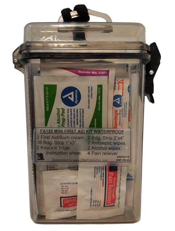 Elite First Aid Mini First Aid Kit FA150