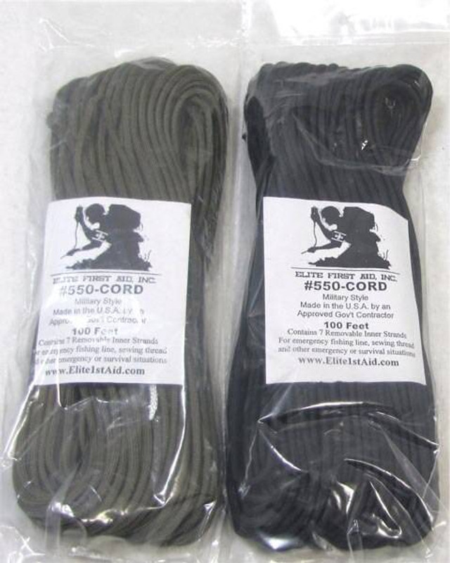 Elite First Aid, Inc Parachute Cord, 100 100-EF