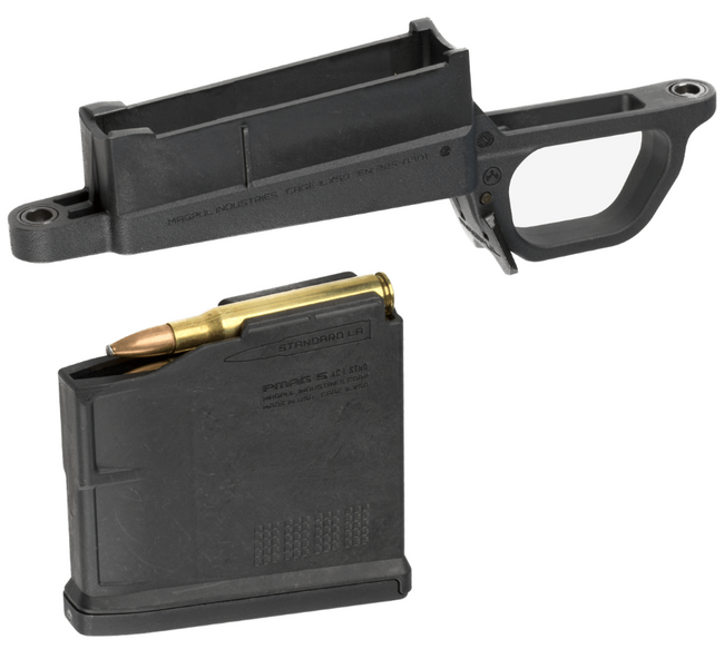 Magpul Bolt Action Magwell - 700L Standard - Hunter 700L Stock MAG489-BLK 840815109631