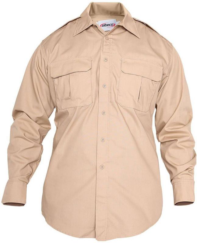 Elbeco ADU Mens L/S Ripstop Shirt ADU-LS