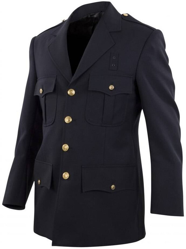 Elbeco Top Authority Single-Breasted 4 Pocket Blousecoat DC13800