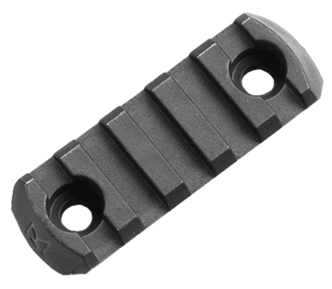 Magpul M-LOK Polymer Rail, 5 Slots MAG590-BLK 873750000381