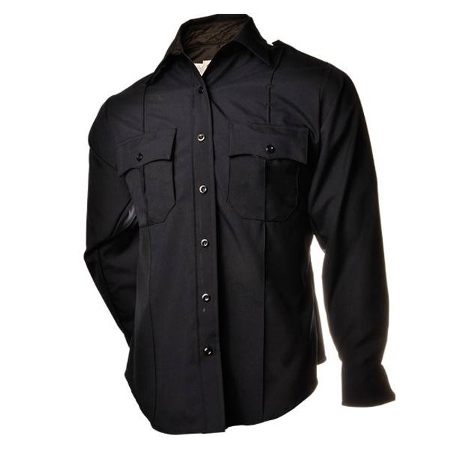 Elbeco Distinction L/S Plain Pocket Mens Shirt 850N