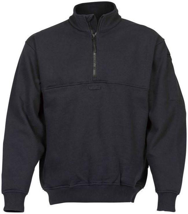 Elbeco Navy Quarter Zip Job Shirt 3730