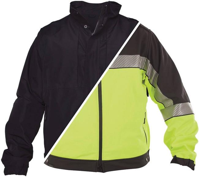 Elbeco Shiled HiVis Reversible Soft Shell Jacket SH3724RV
