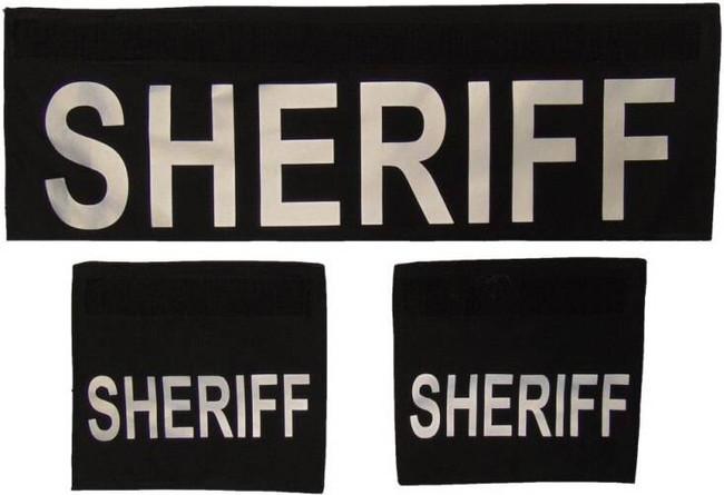 Elbeco Sheriff Shield ID Panels SHIELD-SHERIFF