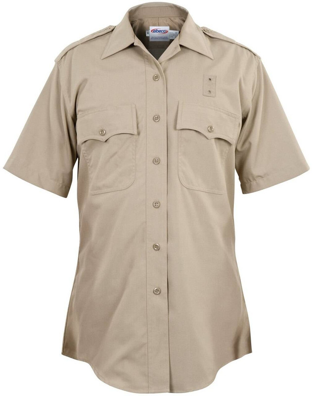 Elbeco Womens California Highway Patrol Class A Rayon Blend S/S Shirts 8687N