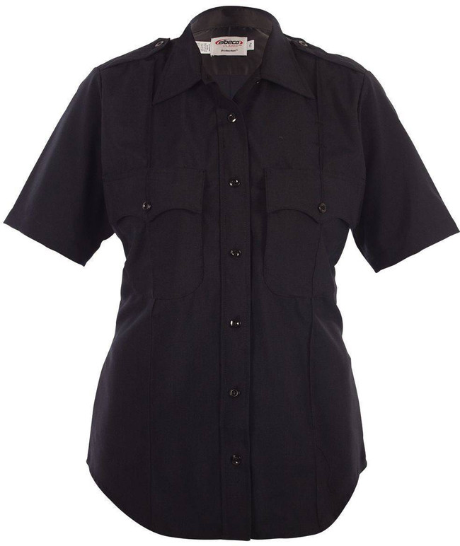 Elbeco Womens Distinction Plain Pocket Short Sleeve Shirt 9850LCN