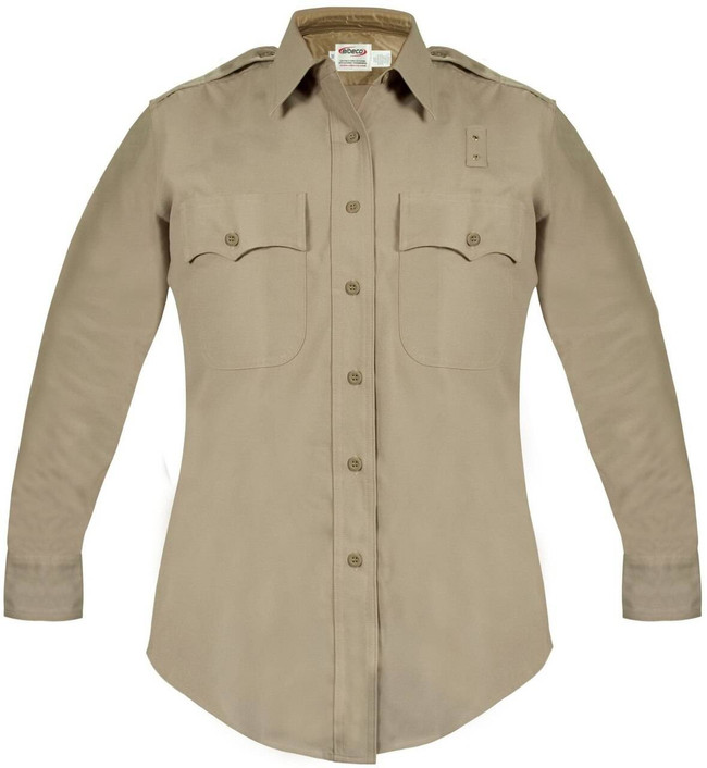Elbeco Womens California Highway Patrol Class A Rayon Blend L/S Shirt 8697N