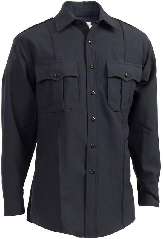 Elbeco Zippered Textrop2 Mens Long Sleeve Shirt ZTEXTROP2-LS