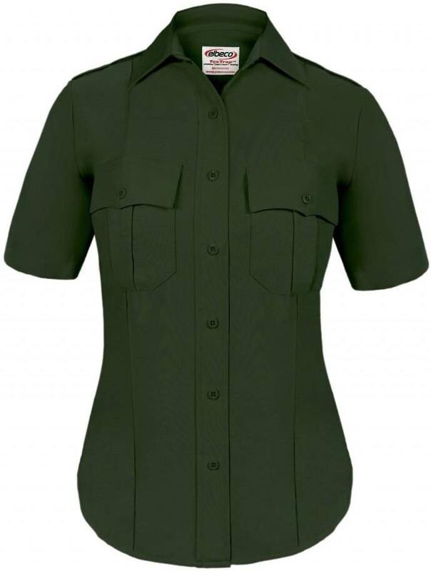 Elbeco Textrop2 Womens Zippered Short Sleeve Shirt ZTEXTROP2-WSS