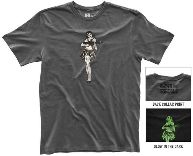 Magpul Fine Cotton Hula Girl T-Shirt MAG924