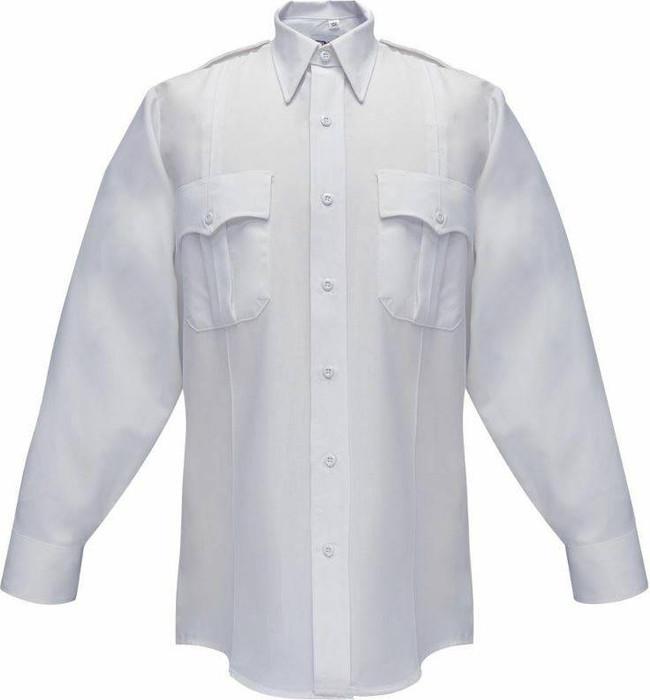 Flying Cross 65percent Polyester/35percent Cotton Duro Poplin Mens Long Sleeve Shirt 35W54