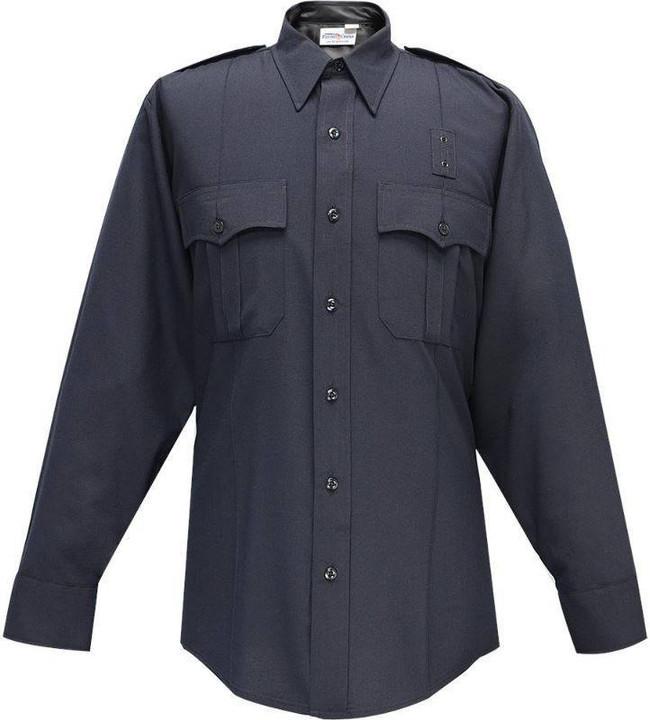 Flying Cross 75percent Polyester/25percent Wool Justice Mens Short Sleeve Shirt 57R84