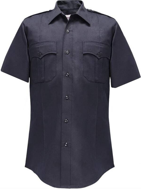 Flying Cross 65percent Polyester/35percent Cotton Valor Mens Short Sleeve Shirt 85R58