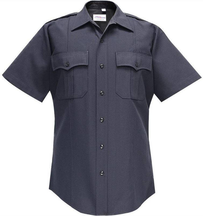 Flying Cross 65percent Polyester/35percent Rayon Deluxe Tropical Mens Short Sleeve Shirt 97R66