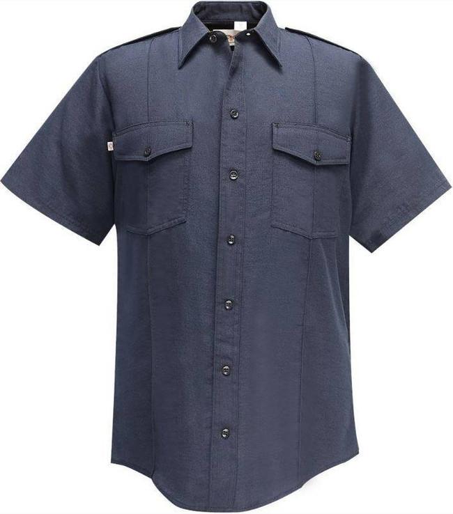 Flying Cross Synergy Nomex IIIA Shelter1000 NFPA Compliant Mens Short Sleeve Shirt 9800