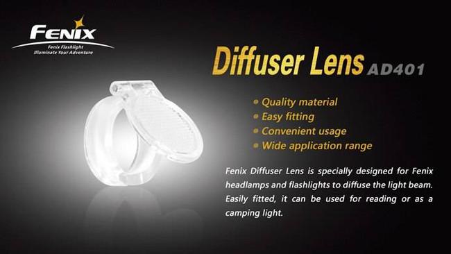 Fenix Lighting Diffuser Lens LENS