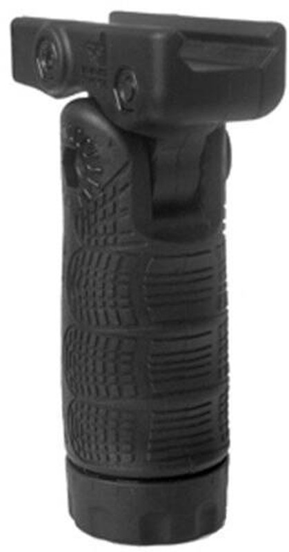 The Mako Group 7 Position Tactical Folding Grip With Waterproof Storage - Quick Release - TFLQR TFLQR