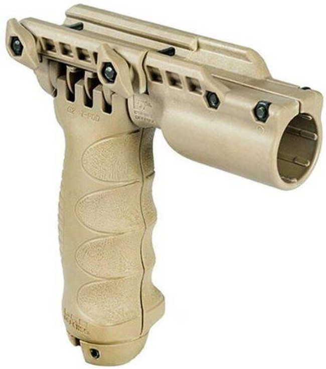 The Mako Group Tactical Foregrip With Integrated Adjustable Bipod And Flashlight - Gen 2 T-PODG2-SL