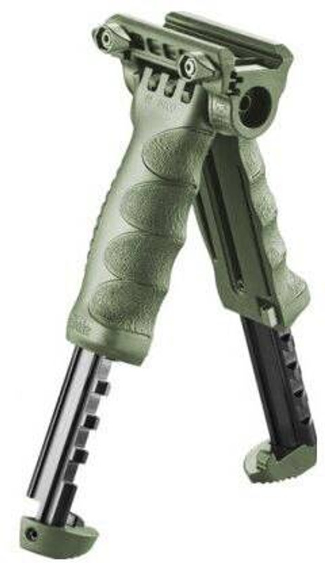 The Mako Group Tactical Vertial Foregrip With Interated Adjustable Bipod And 1 Adapter - GEN 2 T-PODG2FA
