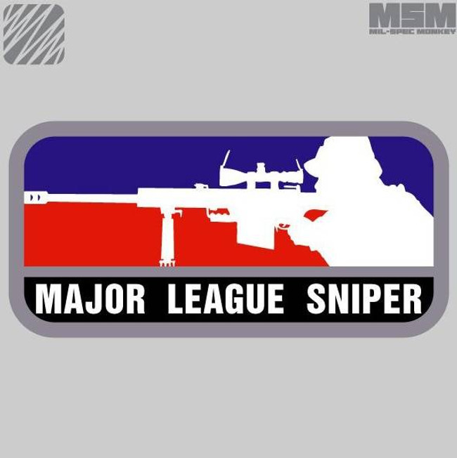 Mil-Spec Monkey Major League Sniper Patch MLS