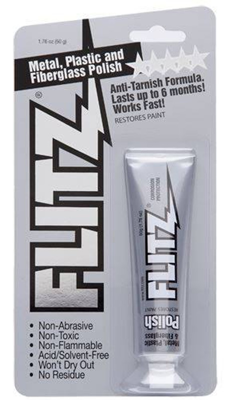 Flitz Paste Polish 1.76oz Blister Tube BP03511 065925135114
