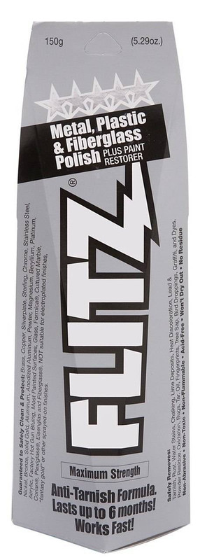 Flitz Paste Polish 5.29 oz Boxed Tube BU03515 065925035155