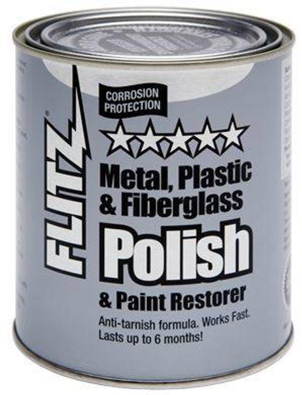 Flitz Paste Polish 2lb Quart Can CA03518-6 065925035186