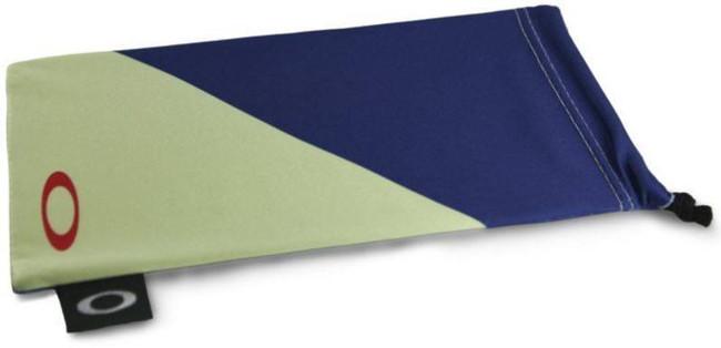Oakley Agility Blue w/ Yellow Microbag 102-154-001 888392230720