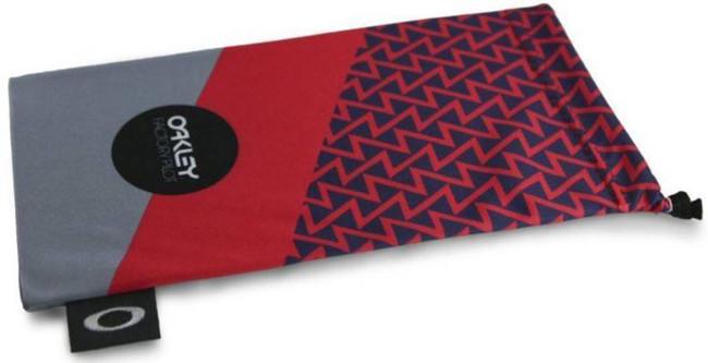Oakley FR Printed French Red w/ Grey Microbag 102-159-001 888392230775