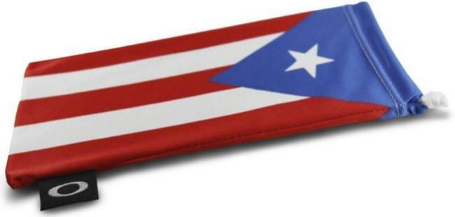 Oakley Puerto Rico Flag Microbag 102-165-001 888392231161