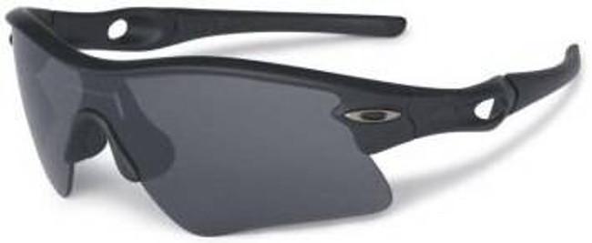 Oakley SI Radar Range Matte Black Sunglasses with Grey Lenses 11-471 700285494975