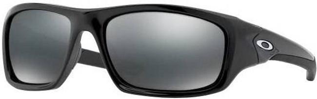 Oakley Valve Black Sunglasses with Black Iridium Polarized Lenses 12-837 700285128375