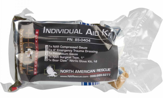 North American Rescue Individual Aid Kit 85-0404