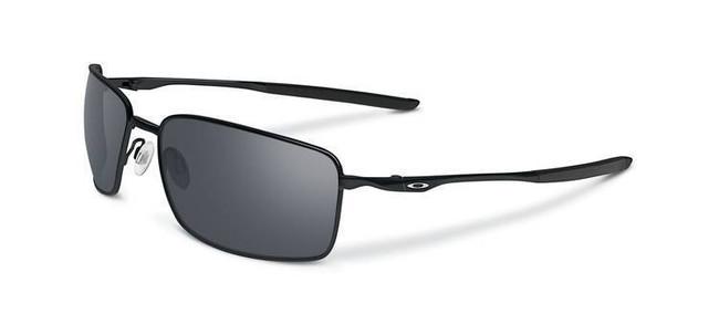 Oakley Square Wire Eyewear Polished Black with Black Iridium Lens OO4075-01 700285807645