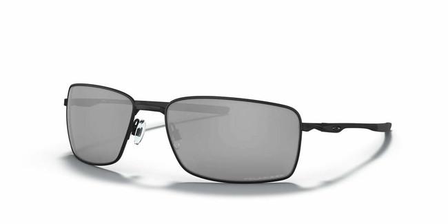 Oakley Square Wire - Matte Black Frame & Black Iridium Polarized Lens main