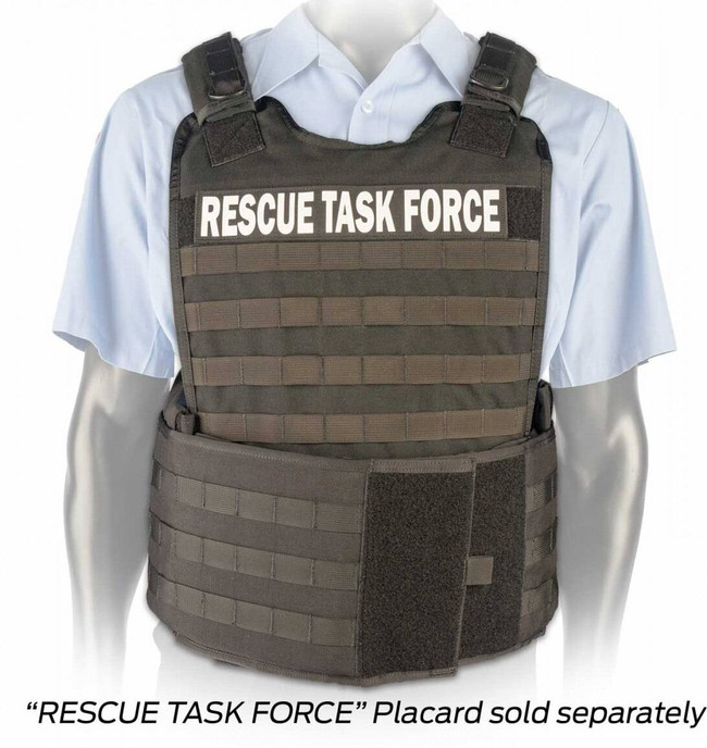 North American Rescue Tactical Responder Vest MKII with Side Armor TRV-SA