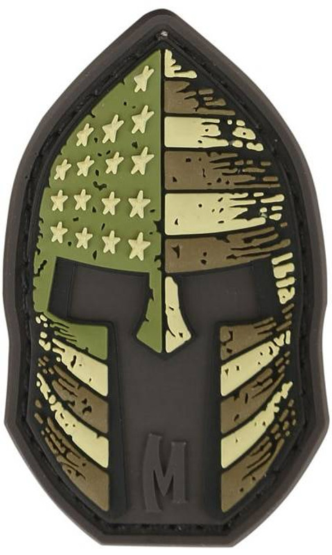 Maxpedition Stars and Stripes Spartan Helmet Patch SPRT