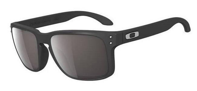 Oakley Holbrook Eyewear Matte Black with Warm Grey Lens OO9102-01 700285385167