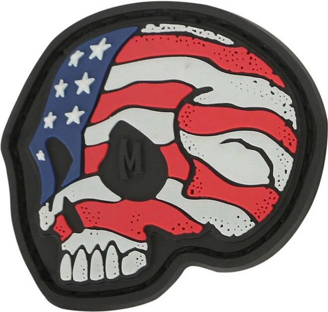 Maxpedition Stars and Stripes Skull Patch STSK