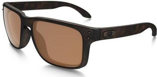 Oakley SI Holbrook Matte Tortoise Sunglasses with Prizm Tungsten Polarized Lenses OO9102-B9 888392235763
