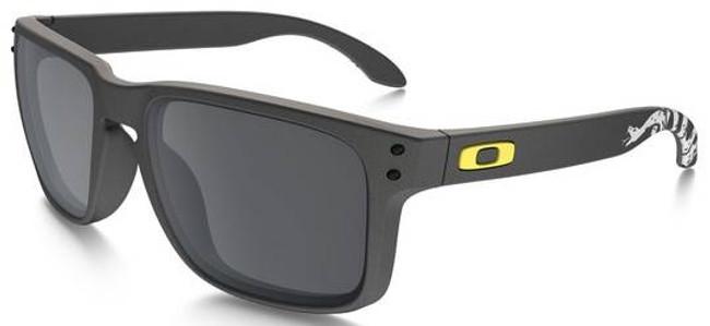 Oakley SI Holbrook Gadsden Matte Dark Grey - Iridium Sunglasses OO9102-D555 888392259257